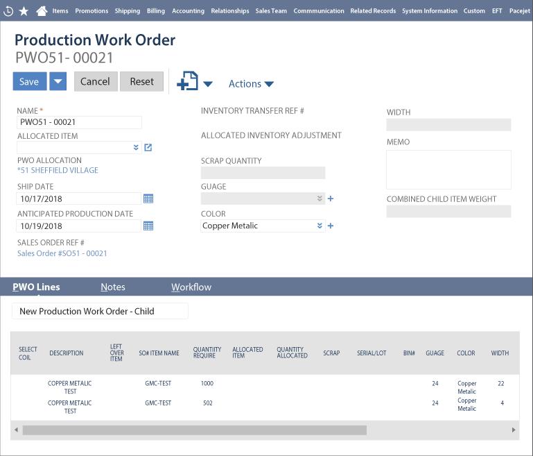 Roll Management NetSuite Screen-1