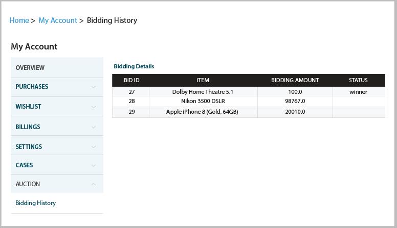 NetSuite Auction Management Screen-2-1