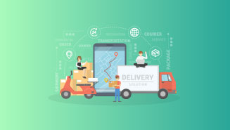 IOT delivery routing